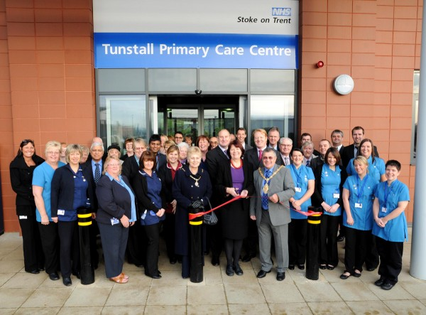 Primary Care Centre official opening - November 2011