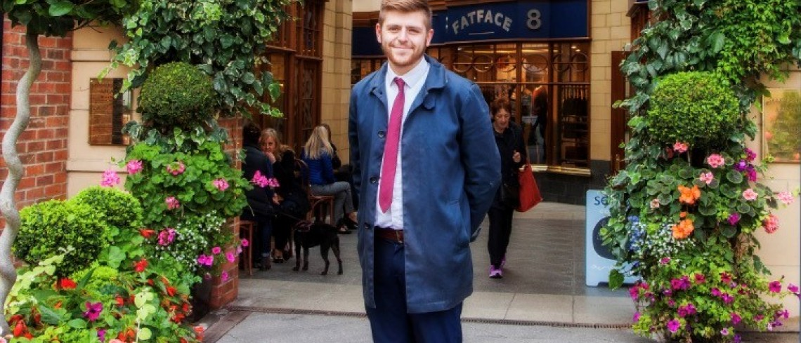 New Centre Manager at Sanderson Arcade