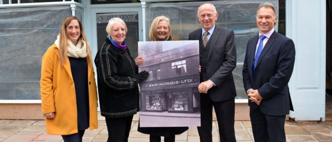First retail unit unveiled in Gainsborough town centre regeneration project
