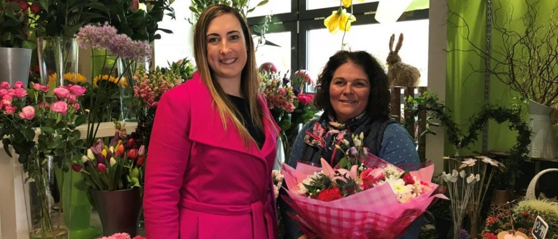 Business is blooming for Marshall's Yard florist