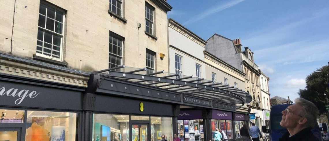 Plans submitted to transform Stroud抯 Merrywalks Centre