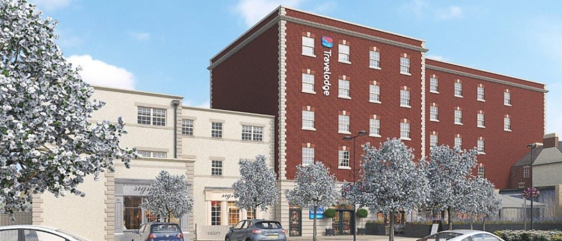 New town centre restaurant opportunity at Gainsborough's brand new hotel