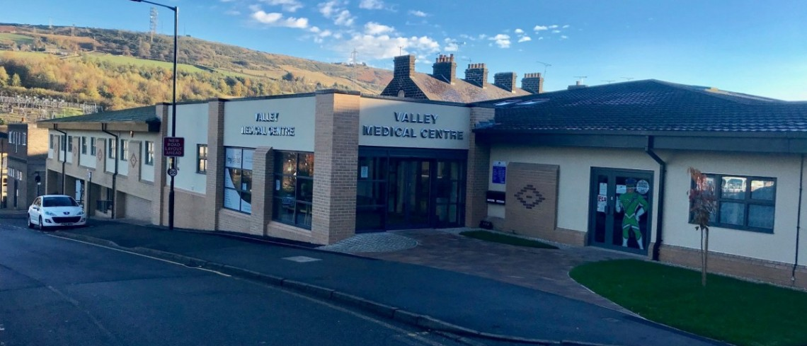 Main building work completed at Valley Medical Centre