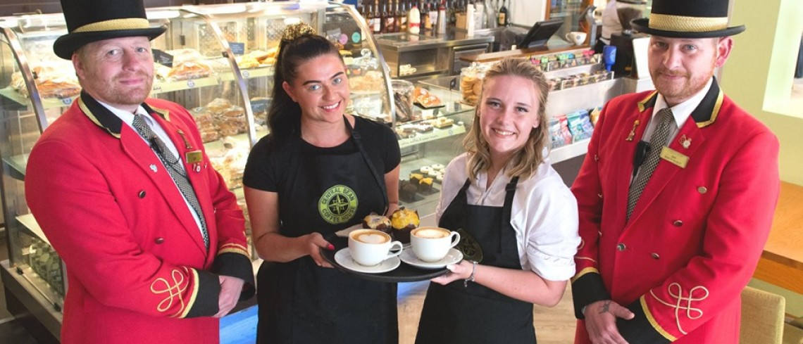 Central Bean team celebrate milestone with a fresh new look