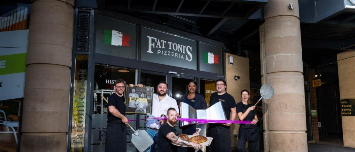 Award-winning pizza on the menu at re-branded Gloucestershire shopping centre