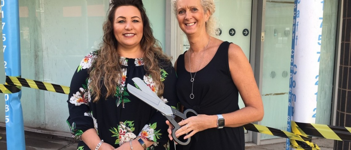 Popular salon steps into cutting edge new premises at Market Cross