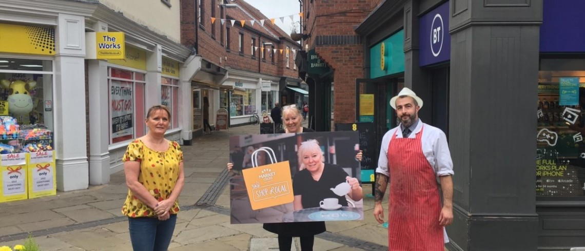"Selby businesses come together to launch ""shop local"" campaign"