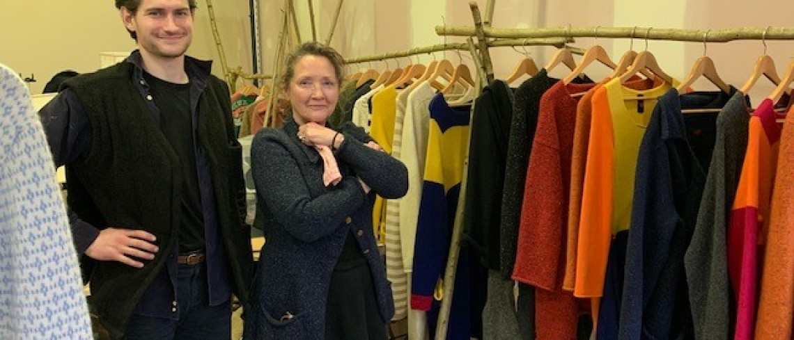 Luxury fashion house opens pop up shop in Stroud