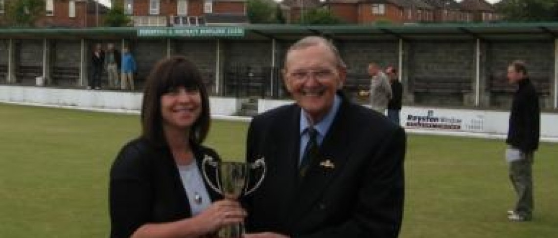 Dransfield Sponsors Bowling Club's Centenary Celebrations!