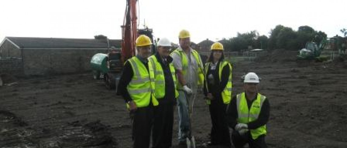 Work gets underway on Penistone Bowling Green