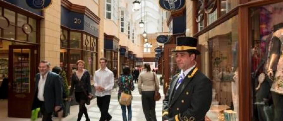 Swedish bank joins the office line up at Morpeth's Sanderson Arcade