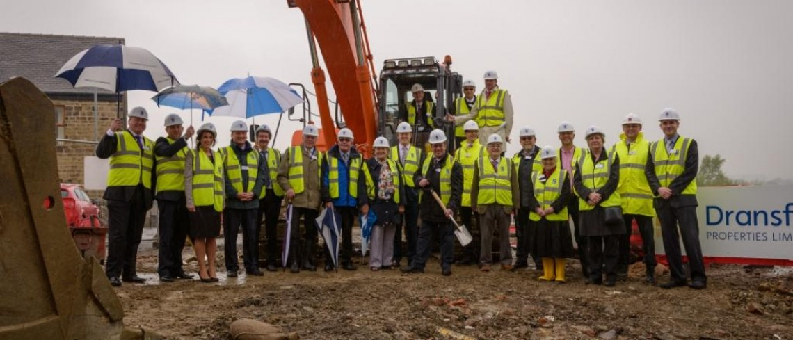 Soil cutting marks the start of new Penistone project for Dransfield Properties