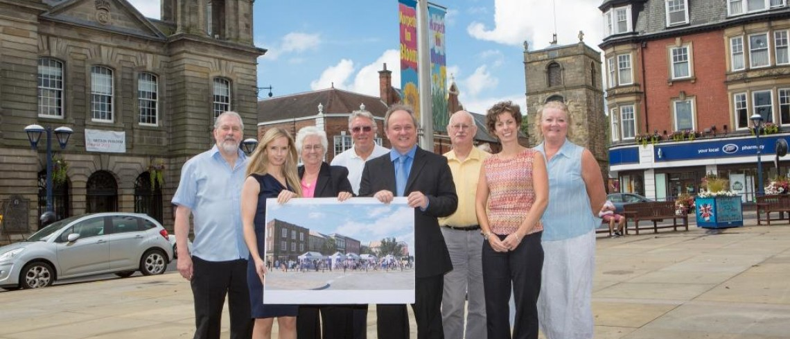 Arcade team works on market initiative to boost town centre trade