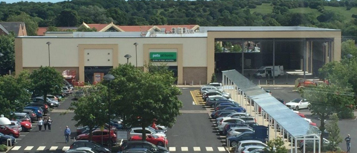 Fit out works starts at Morpeth's new £7 million retail development