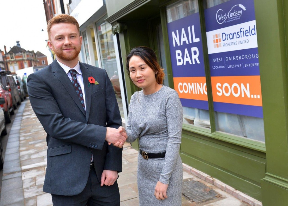 New Gainsborough business hits the nail on the head with town centre location