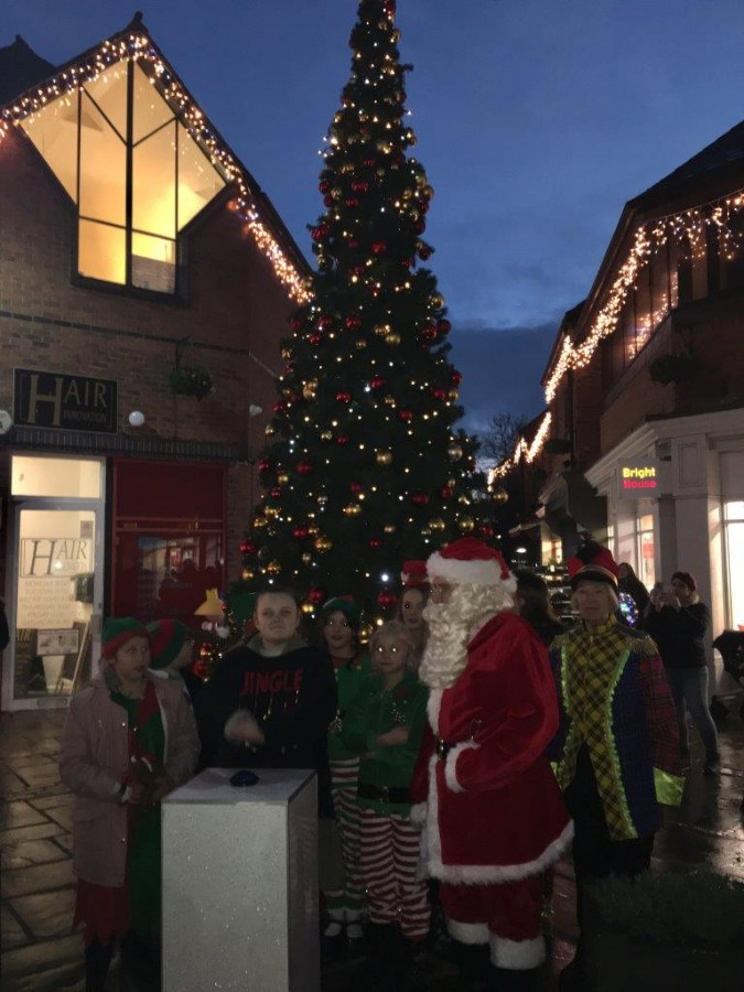 Full on Festive Fun at Market Cross this Christmas.