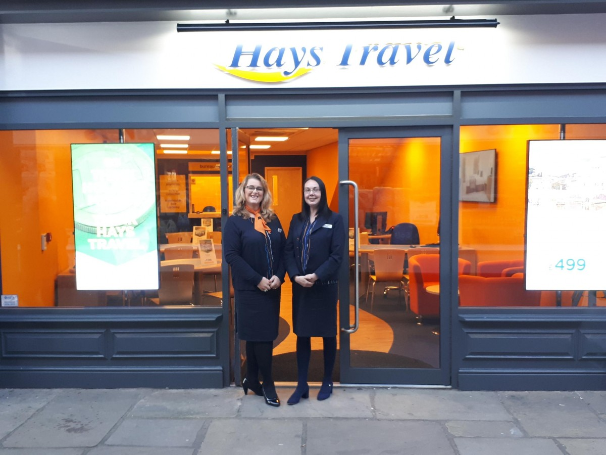Travel company opens for business at Market Cross