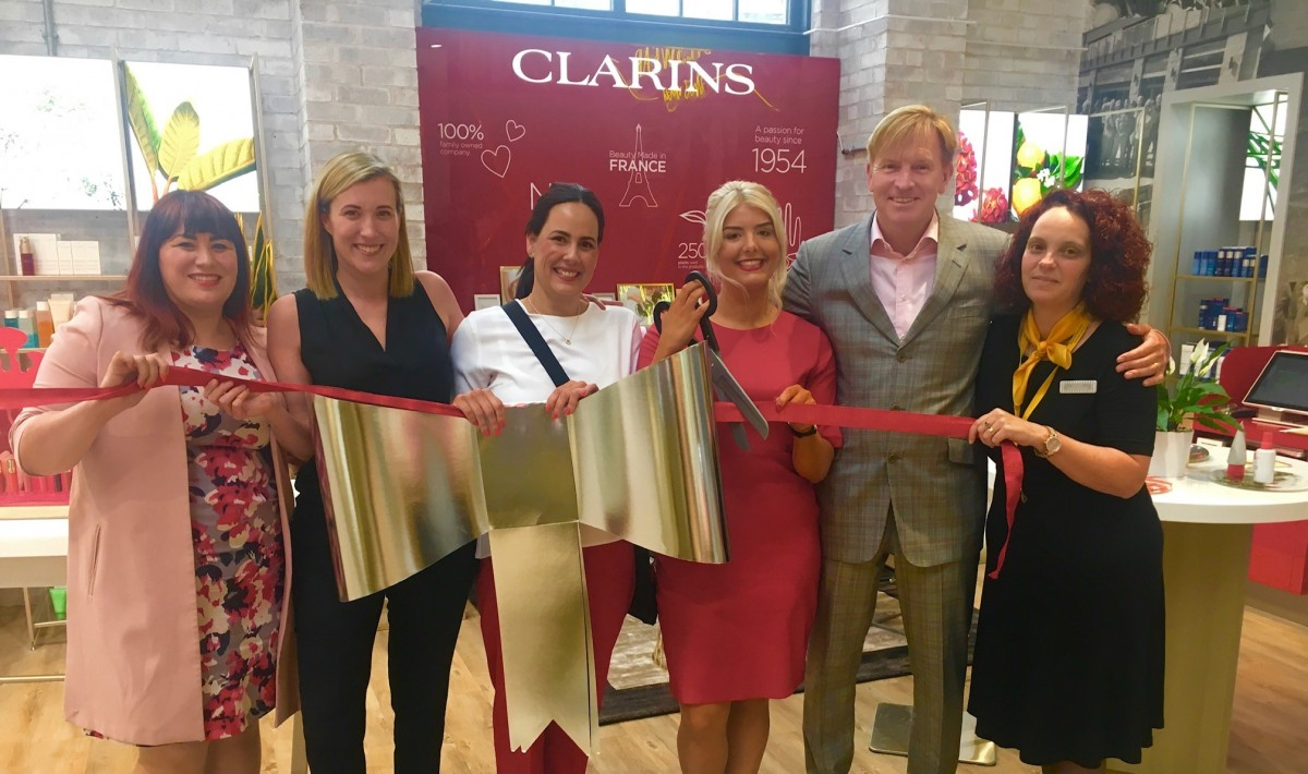 Clarins opens new concession at Sandersons Department Store
