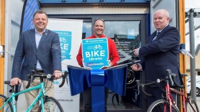 Yorkshire Bank Bike Library launched as Fox Valley prepares to host Tour de Yorkshire finish