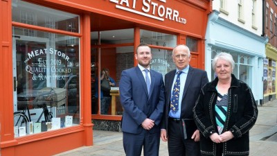 Town centre project returns shops to their former glory