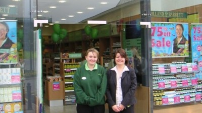 Holland & Barrett open at Marshall's Yard, Selby