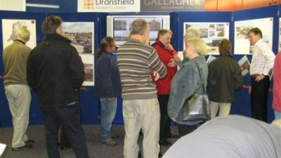 Residents View New Plans for Stocksbridge