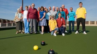 Members Bowled Over By Their New All Weather Green!
