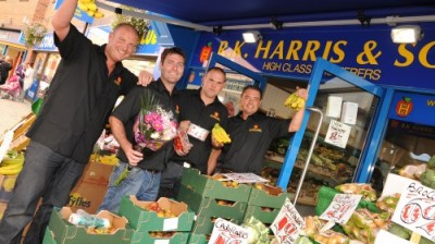 Family run greengrocers launch new business at Selby's Market Cross!