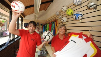 New Sports Shop Opens at Selby's Market Cross!