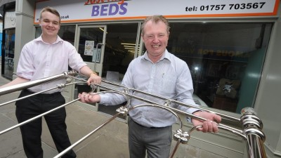 "New Selby  ""sleep advice"" firm opens at Market Cross"