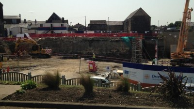 Work progressing well at Penistone's Gateway site