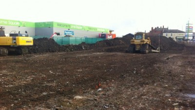 Work underway on latest phase at Lime Square in east Manchester