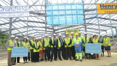 Topping out ceremony marks £42 million investment in North Sheffield