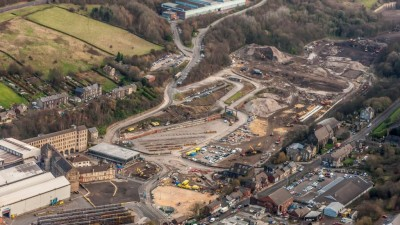 Work gets underway on the main retail site at Fox Valley