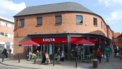 Doors open at Selby's new Costa