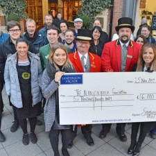Sanderson Arcade team net £6,000 for Alan Shearer Foundation