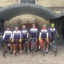 Team Dransfield cyclists raise more than £30,000 for charity