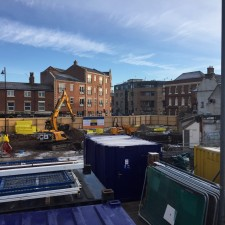 Site Update - Work well underway on new Gainsborough Hotel site