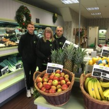 Husband and wife team open new fruit and veg business at Market Cross