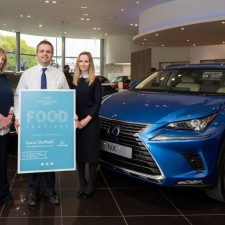 Shopping centre teams partner with Lexus to deliver Food Festivals and drive footfall