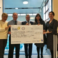 Cyclists' fundraising efforts support Stocksbridge Leisure Centre