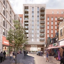Work Begins at Major New Residential and Retail Development in Newham