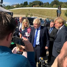 Prime Minister Boris Johnson Visits Fox Valley