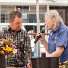 Sanderson Arcade celebrates Gold win in Northumbria in Bloom Awards