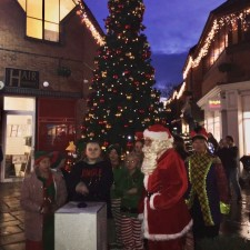 Market Cross team prepare for festive celebrations with the Christmas light switch on event!