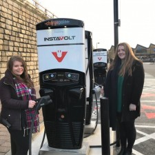 North Sheffield shopping centre unveils InstaVolt electric vehicle chargers