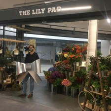 Florist opens stunning new stall at Five Valleys market