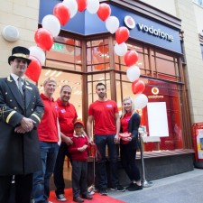 Vodafone opens  in Morpeth as part of �100 million investment in the UK High Street