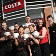 Costa Coffee opens new coffee shop at Tunstall's Alexandra Park