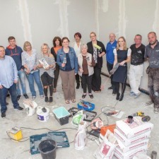 Volunteers roll up their sleeves for Barnabas Centre makeover